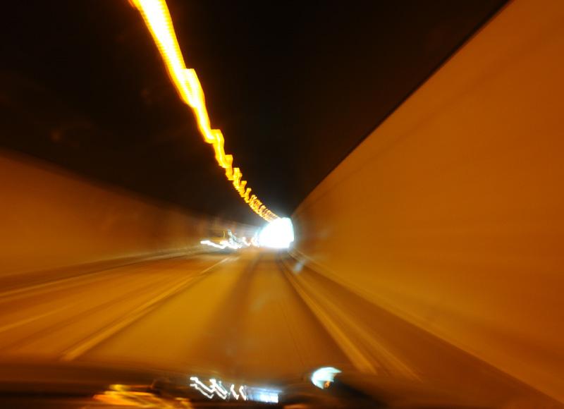 Эстерсунд - Трондхейм. Е14. Тоннель. (c)Smyslik 80
