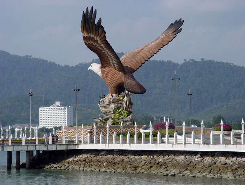 Лангкави. Орел. Langkawi. Eagle. 4