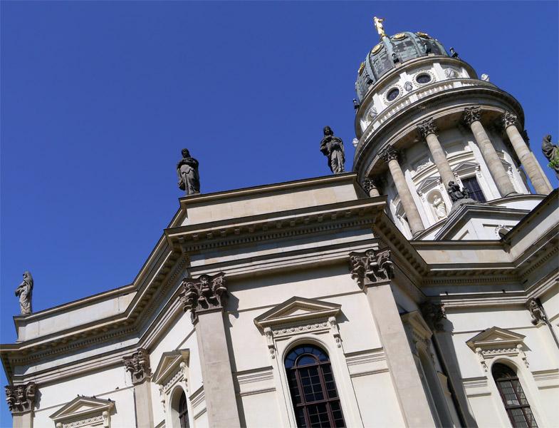 Берлин. 9 мая 2013г. Жандармская площадь, площадь Жандармский рынок. 11
