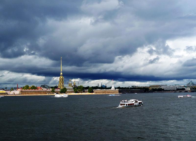 Тучи над городом ходят... (с)Smyslik. Вариант.