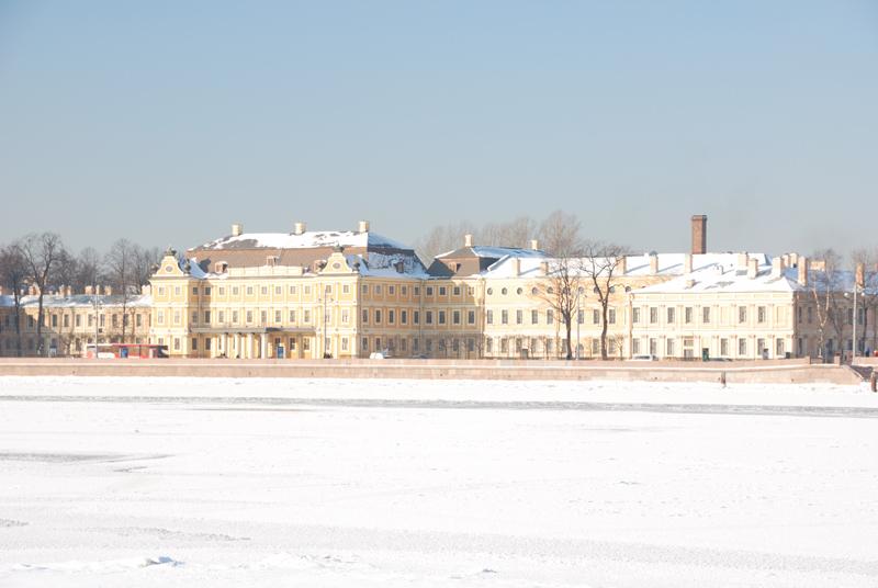 Меньшиковский дворец. EV=0.