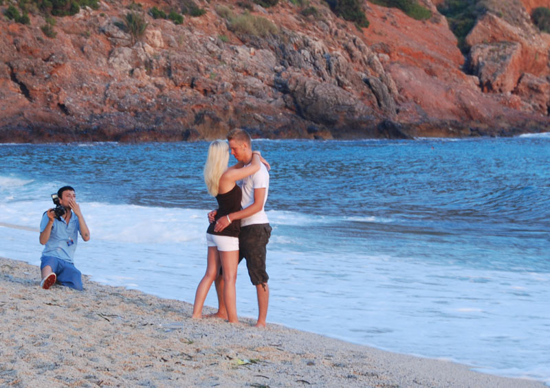 Алания. Пляж Клеопатры. Турция. Alanya. Kleopatra Beach. Turkey.