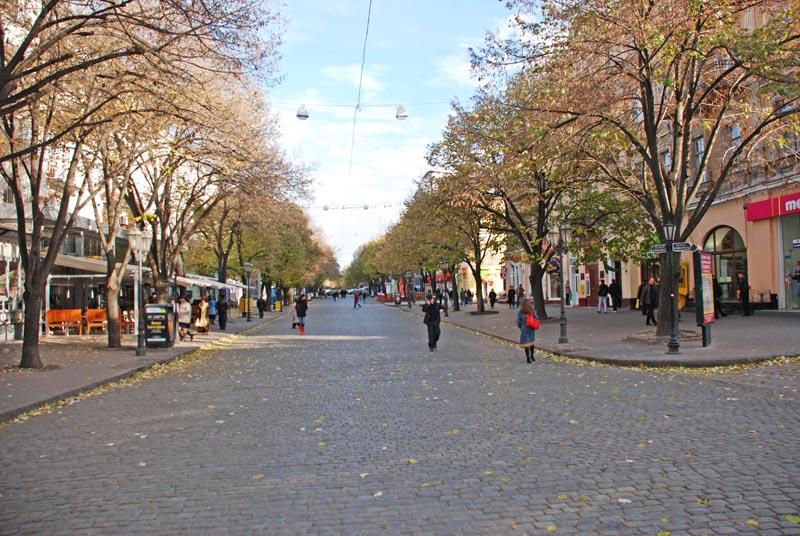 Одесса. Дерибасовская улица. Odessa.