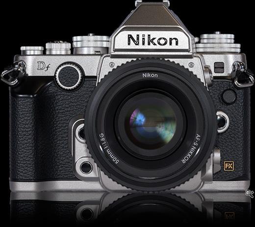 Nikon DF. (c) dpreview