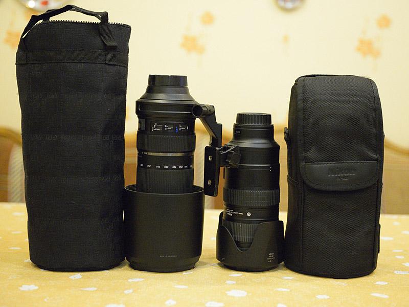 Тамрон 150-600б Никон 70-200 и чехлы